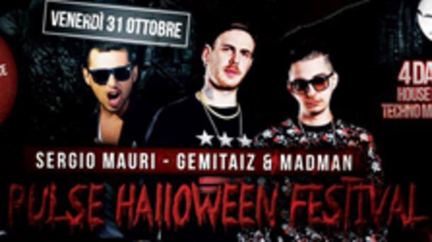 Halloween 2014 @ discoteca Le Plaisir Mazoom: Pulse Festival