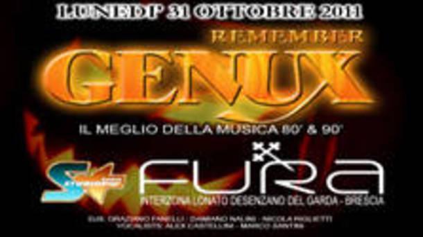Remember Genux @ discoteca Fura Look Club