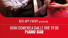 Piano Bar / Dj set Domenicale @ Red App